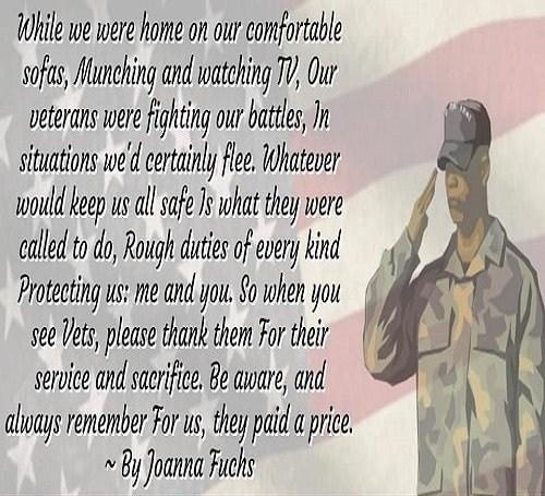 Happy Veterans Day Poems