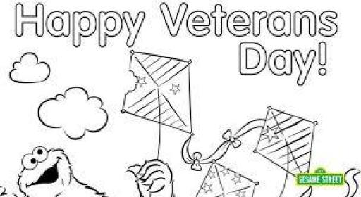 Veterans Day Coloring Pages 2019