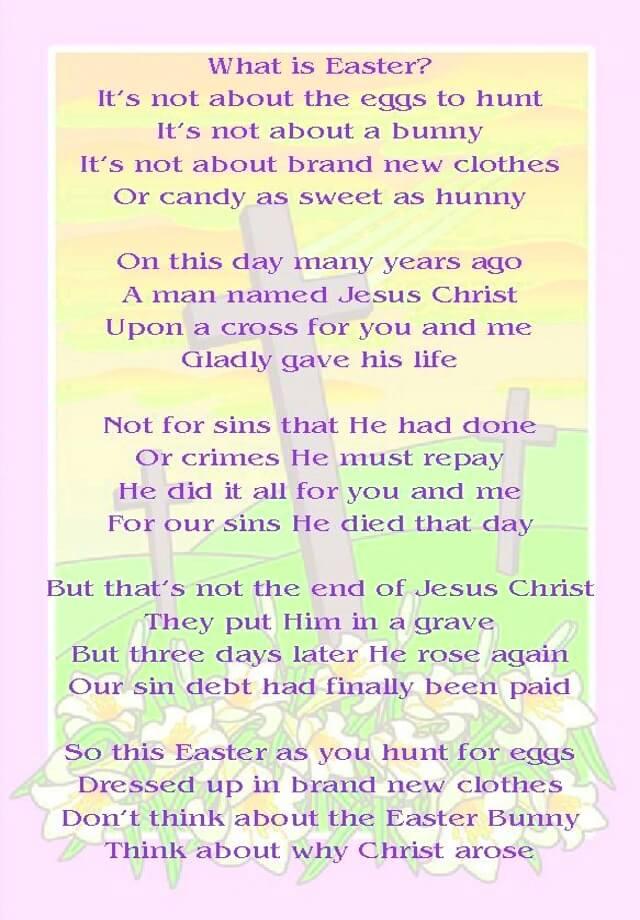 Easter Speeches