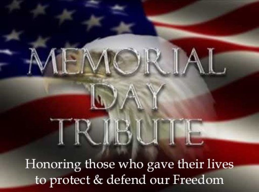 Memorial Day Tributes Images