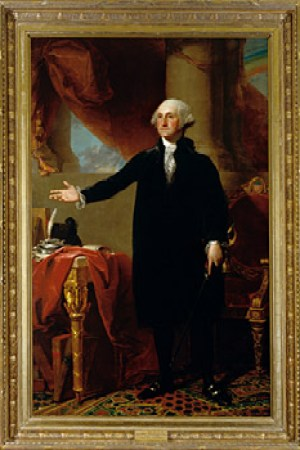George Washington The Constable Hamilton Portrait