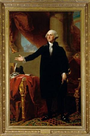George Washington The Constable Hamilton Portrait
