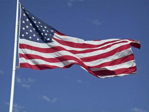 Memorial Day Flags Photos