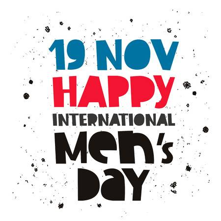 Happy International Men's Day 2019