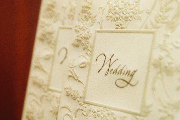 結婚式ペーパーアイテムの節約