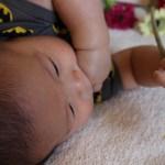 【生後4ヶ月の成長記録】ハイハイの練習が本格的に始まった