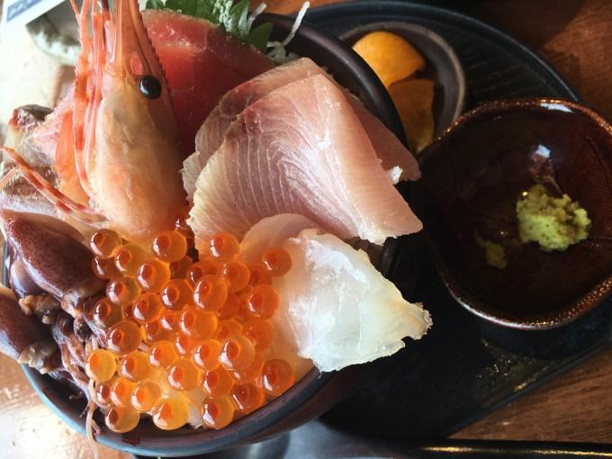 伊豆高原ビール海鮮丼