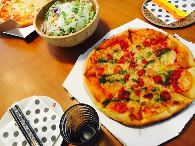 オーケーストアのピザパーティ
