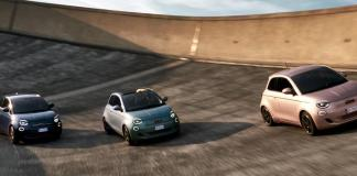 Fiat 500 3+1 electric vehicle gets a fresh redesign