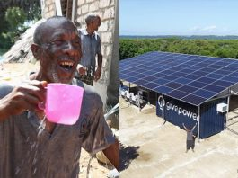 Tesla's Solar Panels Are Turning Saltwater into Drinking Water for 35,000 Kenyans