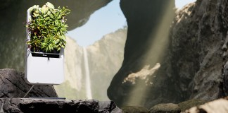 Respira, the hydroponic smart garden that purifies the air