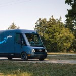 Amazon shows Rivian electric delivery vans it will use starting in 2021