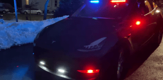 First Model Y Commissioned as Police Vehicle in New York