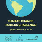 Join youth from across the world in this two-day challenge to create solutions to our climate crisis!