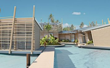 Kiribati Floating Houses address rising waters and land limitations