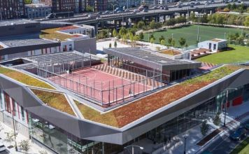 Green-roofed campus brings a sustainable social nexus to Toronto