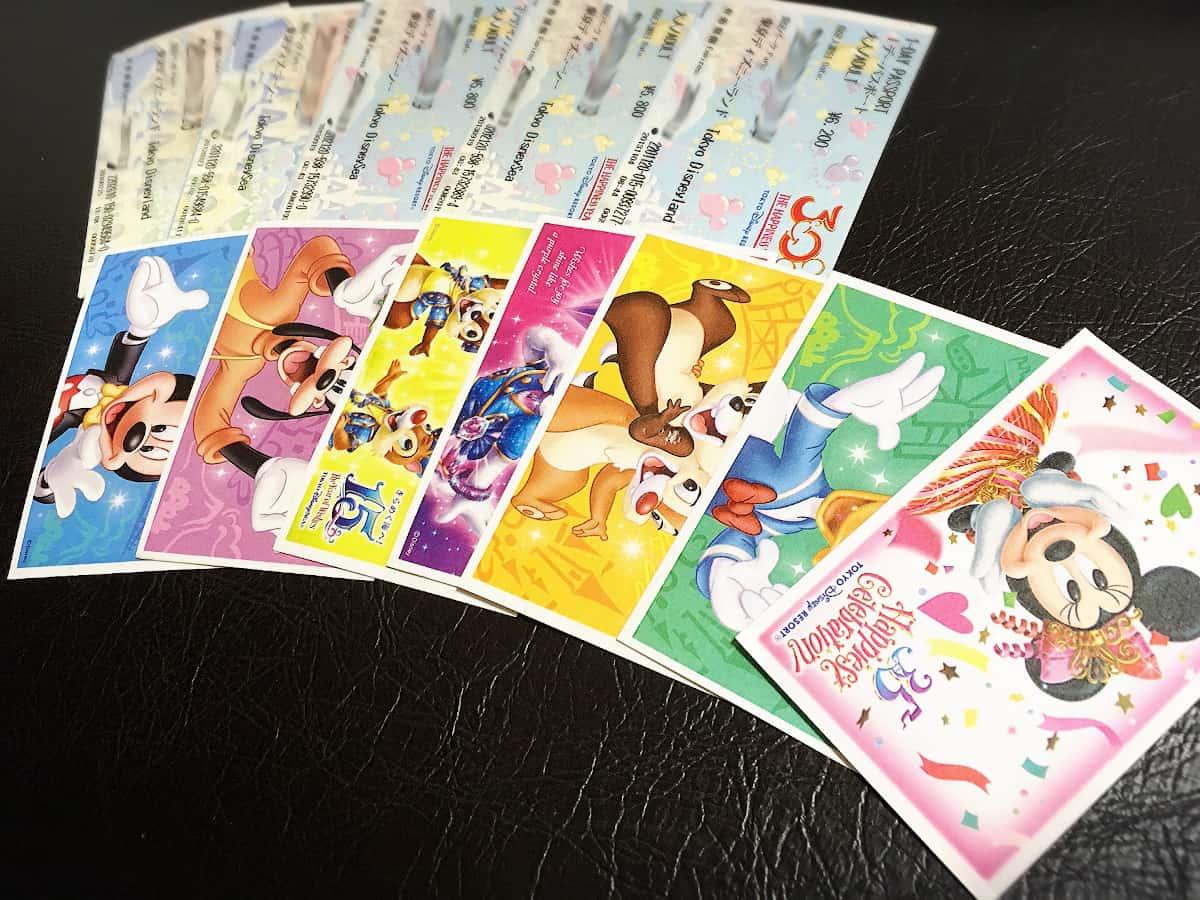 様々なキャラクターデザインのパスポート