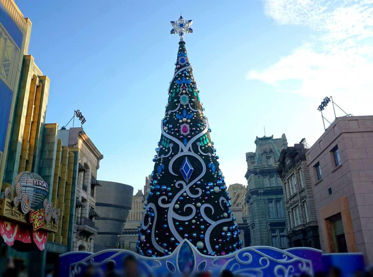 クリスマスツリー ユニバ
