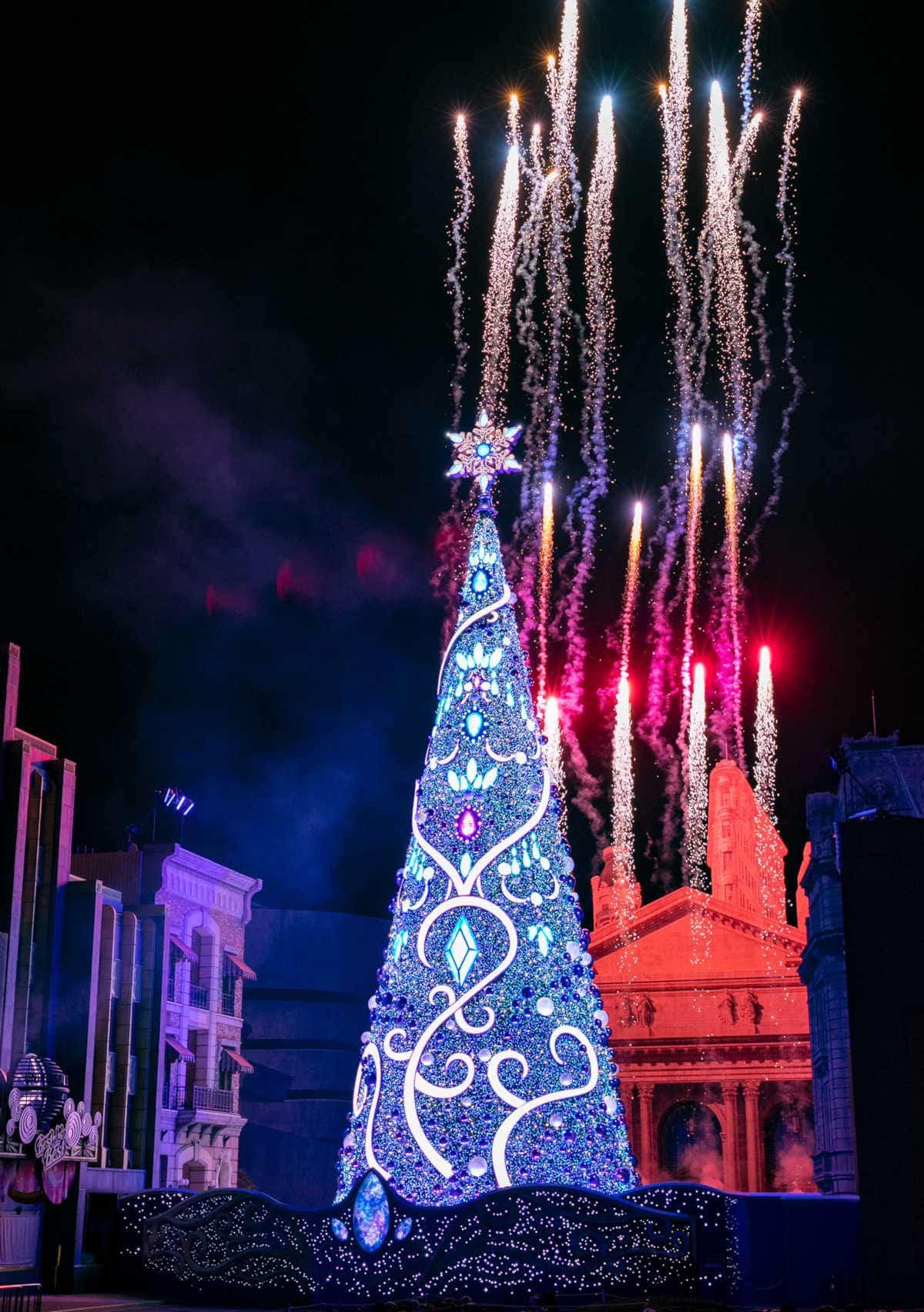 クリスタルクリスマスツリー