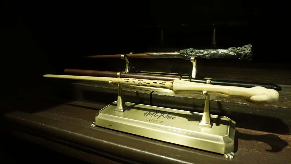 店内に展示されている杖