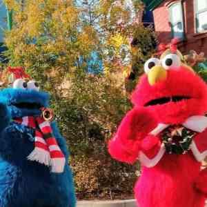 エルモとクッキーモンスター