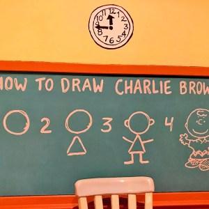 チャーリー・ブラウンの書き方