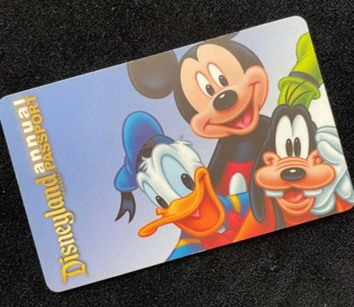 カリフォルニアディズニーリゾートの年間パスポートの種類