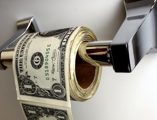 Toilet Paper Money