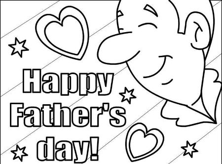 free printable fathers day coloring pages 2020