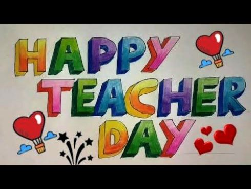 Teachers Day Drawing Pictures 2020