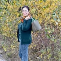 Hallo Herbst! (M)ein Styling in Grün und Orange
