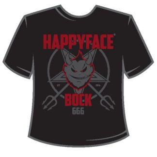 Bock Shirt with HappyFace Bockbeer logo