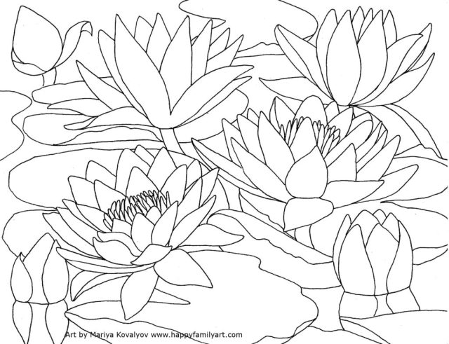 Pointillism coloring pages