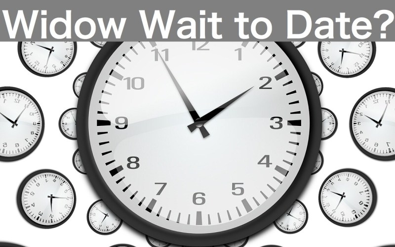 How Long Should a Widow Wait to Date Again?