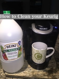 Cleaning: How to Clean your Keurig by Happy Family Blog