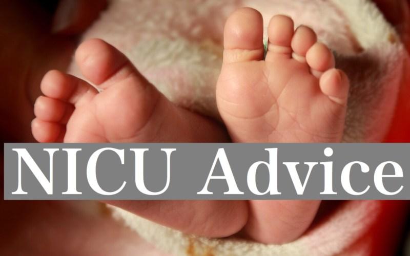 NICU Advice by Happy Family Blog