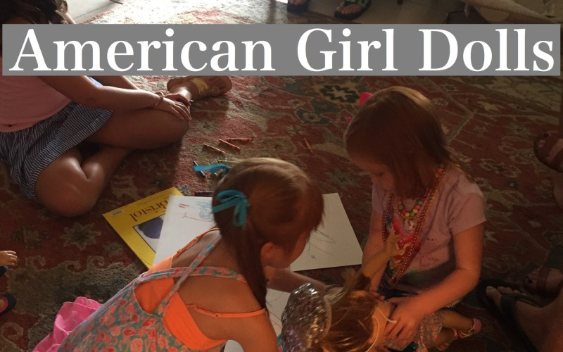 American Girl Dolls by Happy Family Blog
