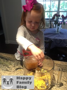 Cooking with a Toddler: Homemade Cheez-its