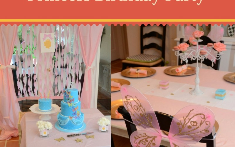 Princess Birthday Party by Happy Family Blog