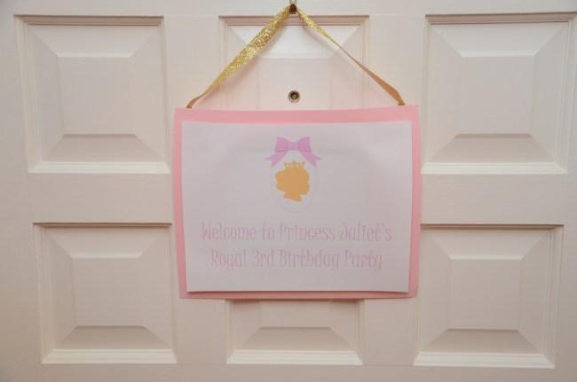 Princess Birthday Party by Happy Family Blog