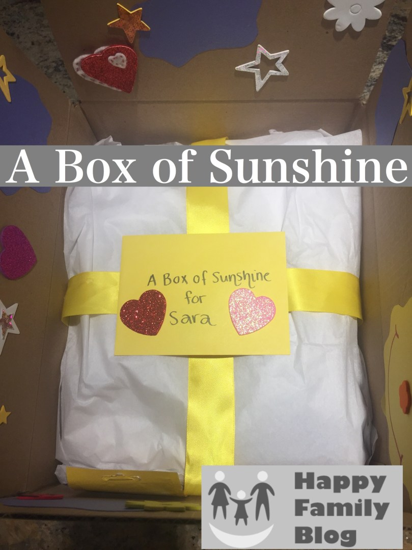 A Box of Sunshine by Happy Family Blog