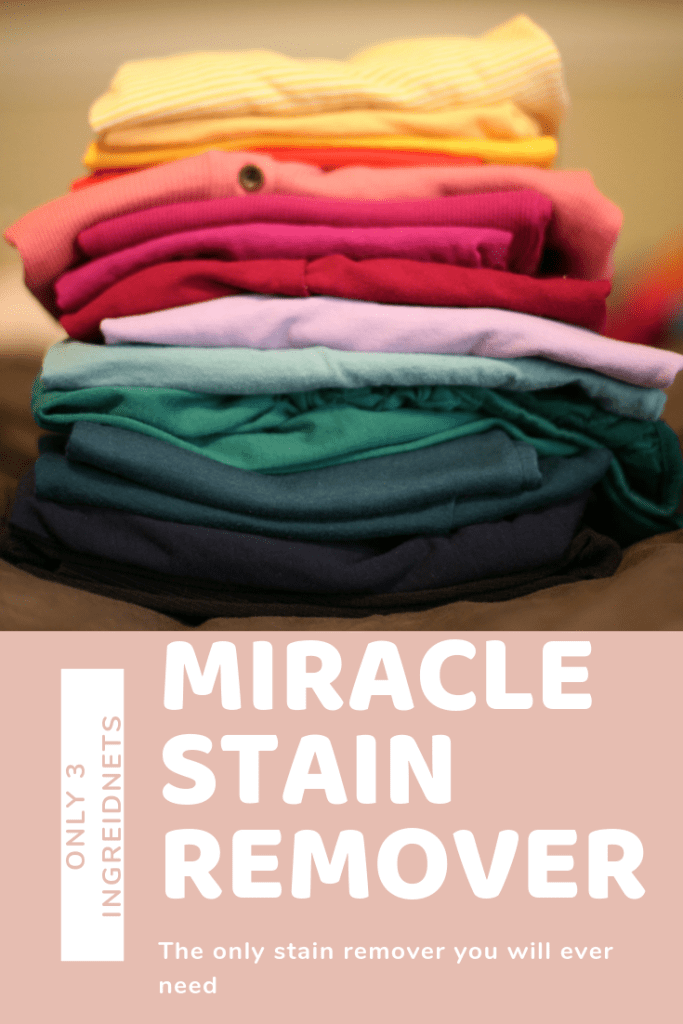 miracle cleaner, stain remover for clothes, diy stain remover for clothes