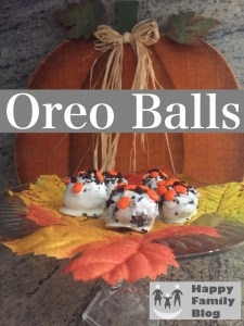 Oreo Cookie Balls - 3 Ingredient Easy by Happy Family Blog
