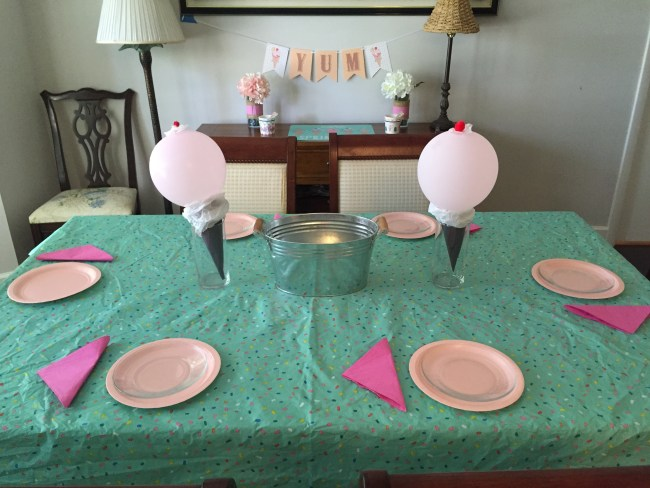 Ice Cream Party - Happy Family Blog