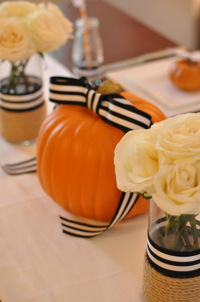 Black, White and Pink Pumpkin Party by Happy Family Blog