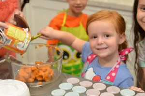 Pumpkin Muffins by Happy Family Blog