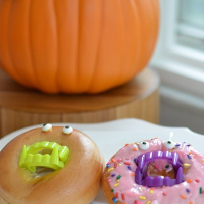 Vampire Bagels and Donuts by Happy Family Blog