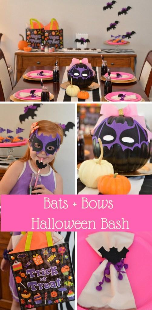 Bats + Bows Halloween Bash by Happy Family Blog