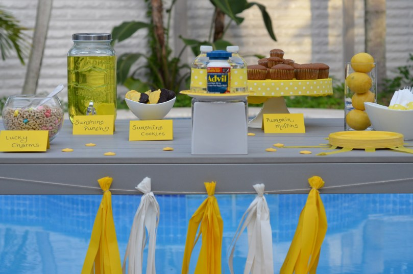 Sunshine Party Celebrating Bye-Bye Hurricane Matthew by Happy Family Blog