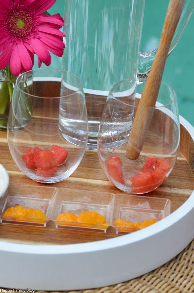 Orange Watermelon Mocktail by Happy Family Blog